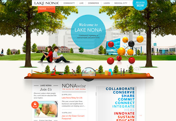 lake nona - Best Home Page Design