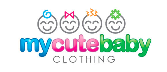 20 inspirational multicolor designs in kidswear logos