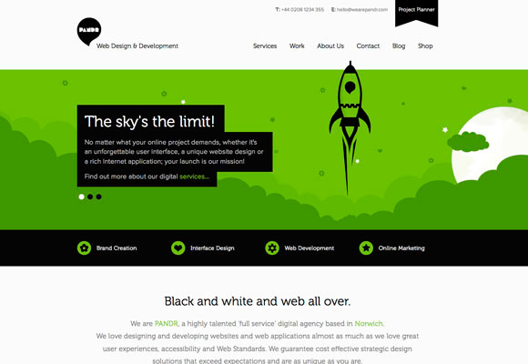 Great Example Of A One Page Website Smooth Transitions And Uses Illustrative Backgrounds To Keep The User Engaged