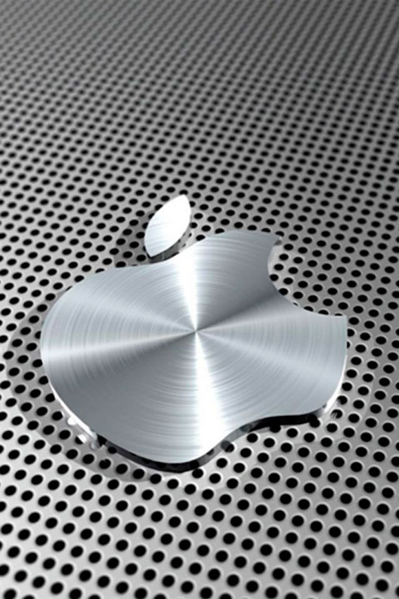 Apple Aluminium iPhone Wallpaper