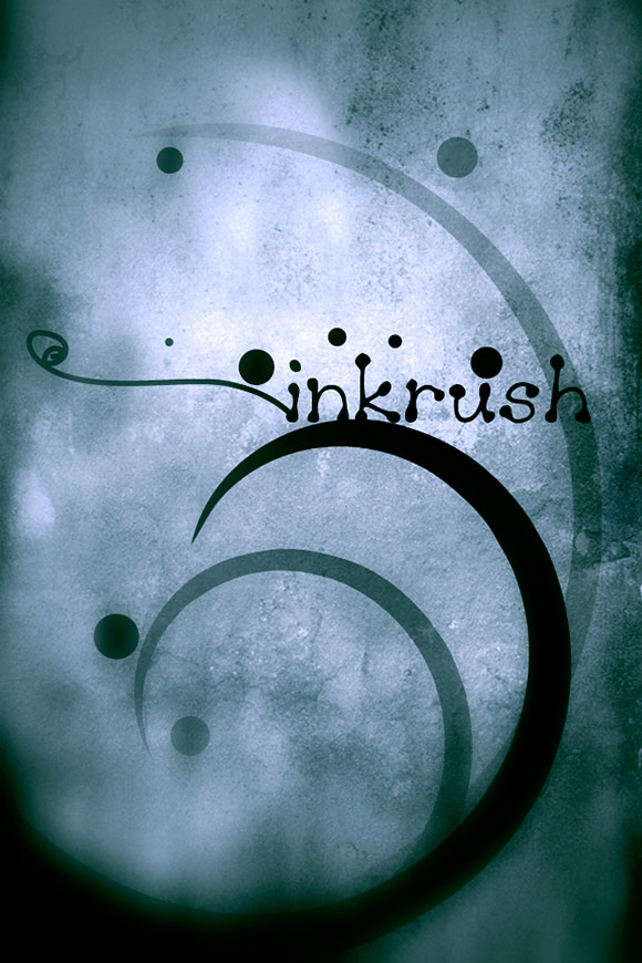 Inkrush iPhone Wallpaper