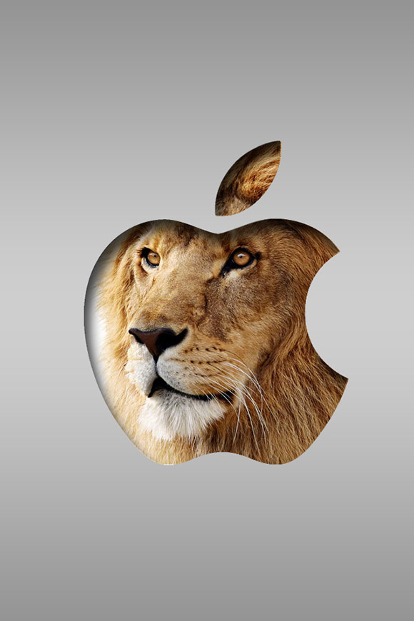 Mac OS X Lion iPhone Wallpaper