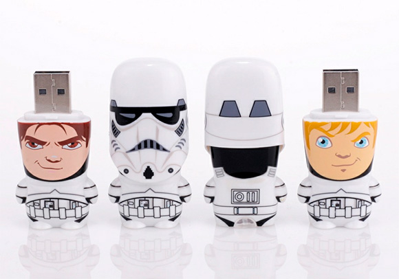 Star Wars Stormtrooper 4GB MIMOBOT USB Flash Drive