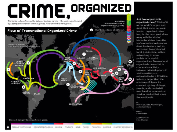 Organised Crime: The World's Largest Social Network