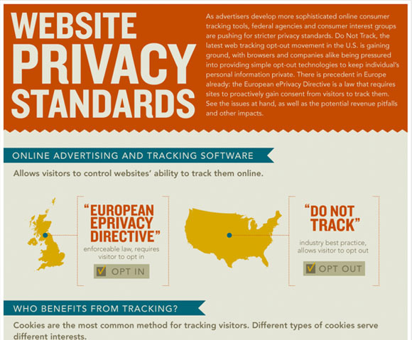 Infographic: Website Privacy Standards