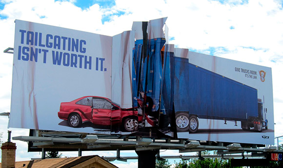Colorado State Patrol: Billboard Collision