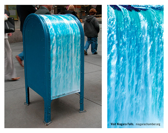 niagarachamber.org: Post-Box Waterfall