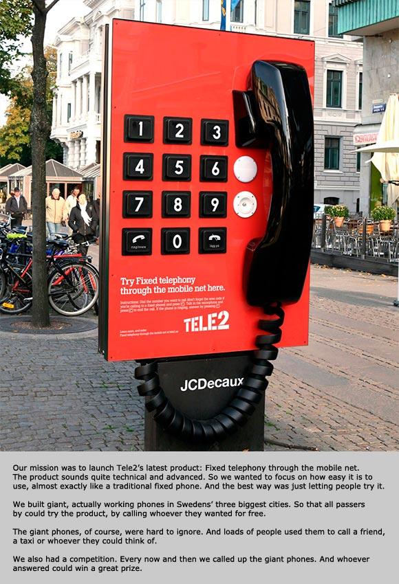 Tele2: Giant Phone