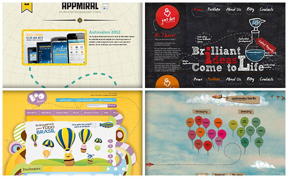 Looking Into Dashed Line Trend in Web Design