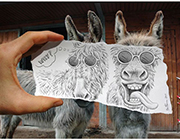 40+ Amazing Examples of Pencil vs. Camera Art by Ben Heine