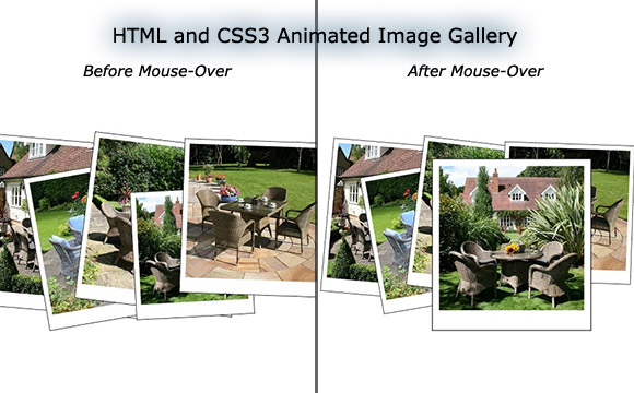 How to Create an Animated Image Gallery Using HTML and CSS3, Without the Need for jQuery
