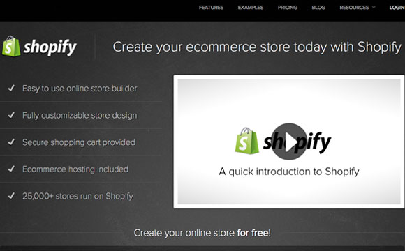 Shopify - For All of You Aspiring Online Retailers Out There