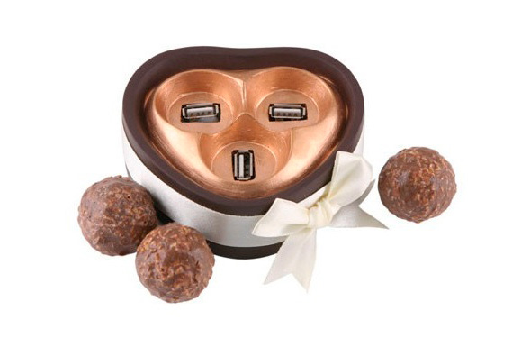 Chocolate Ball USB Hub
