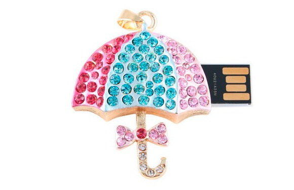 Jewel Umbrella USB Drive