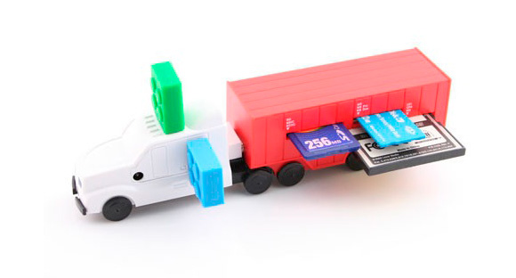 USB Truck Multi Card Reader