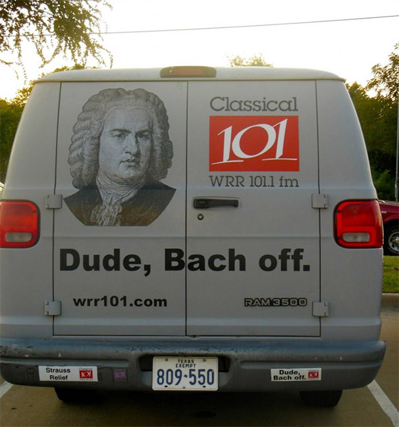 Dude, Bach off