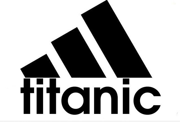 What I see in the adidas logo