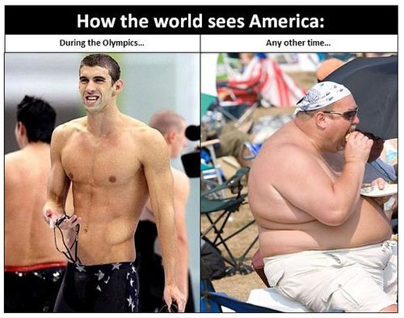 How the world sees Americans