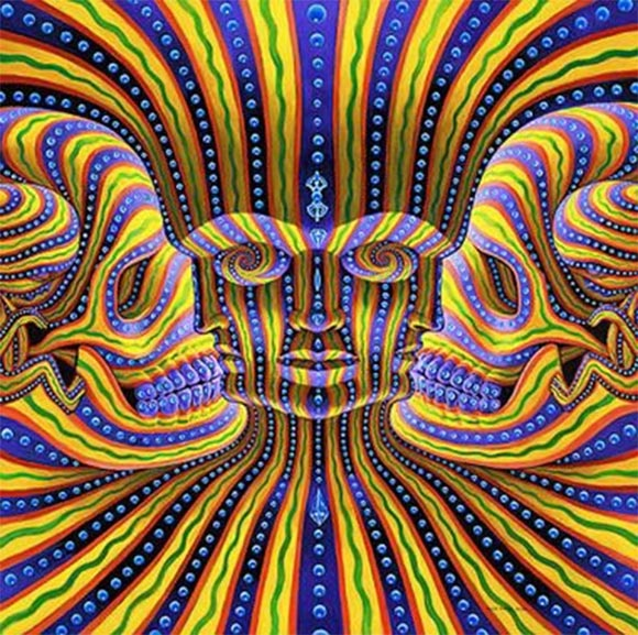 Alex Grey - Life & Death - 7 Faces