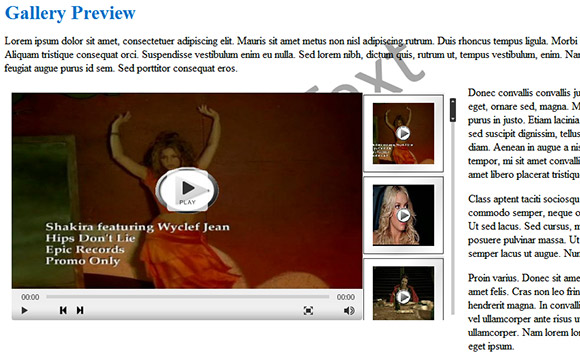 Cincopa WordPress Video Player Plug-in