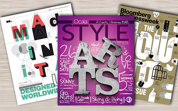 Magazine Covers with Amazing Typography