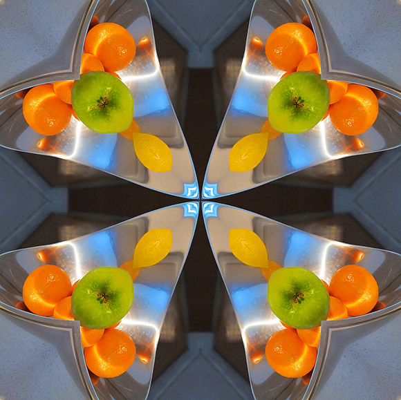 Fruit Dish Kaleidoscope