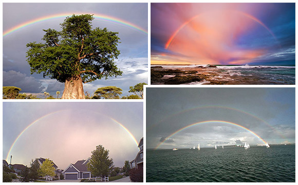 45 Beautiful, Awe-Inspiring Photographs of Rainbows
