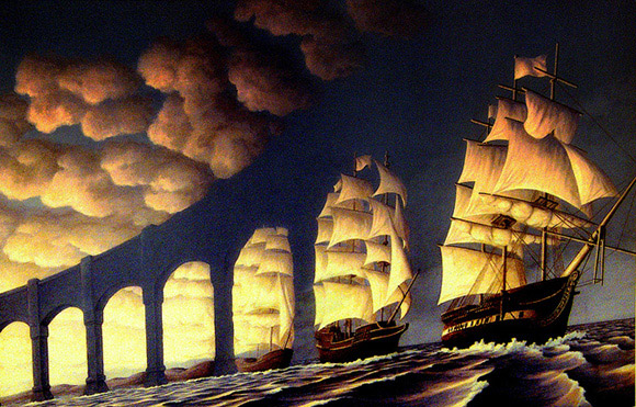 Ships and Arches Illusion