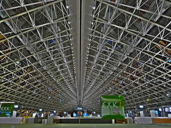 Charles de Gaulle Airport - HDR