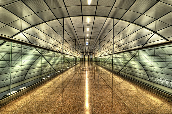 Hamburg International Airport HDR