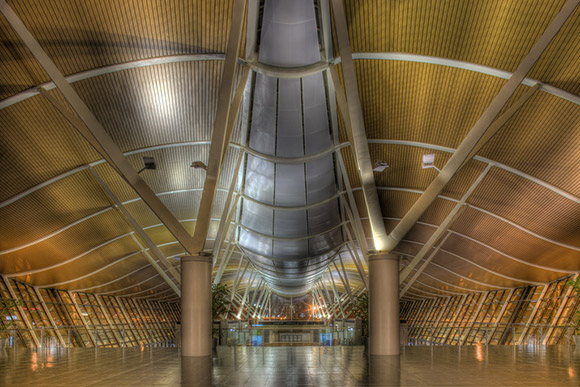Shanghai Pudong Airport - HDR