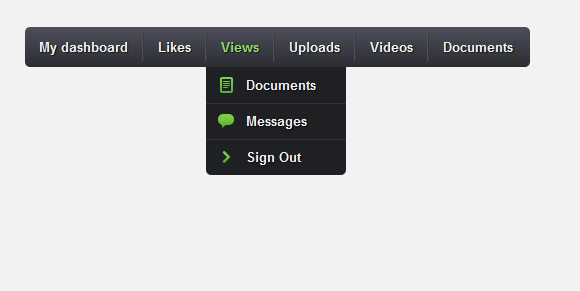 CSS3 Drop-Down Menu
