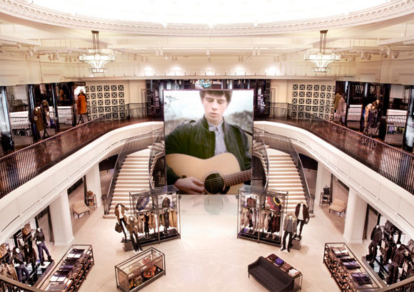 London Burberry Flagship Store