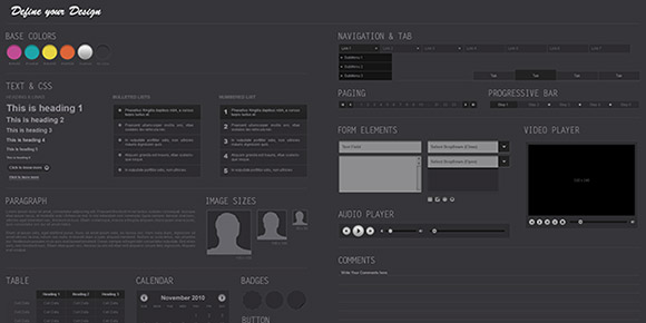 Midnight UI Kit