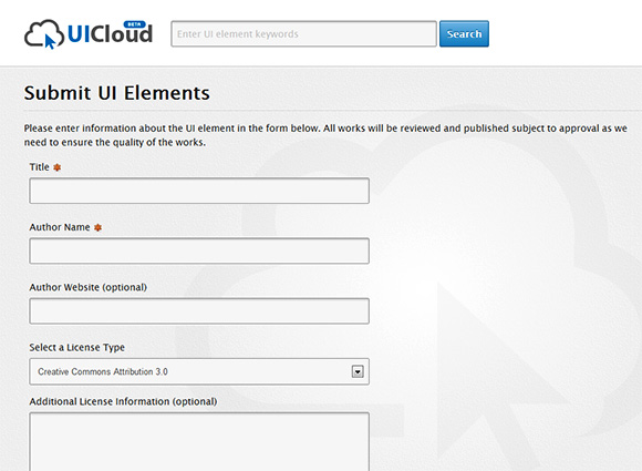 UICloud Submission Form