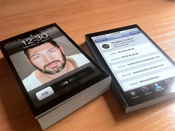 iPhone Business Cards!