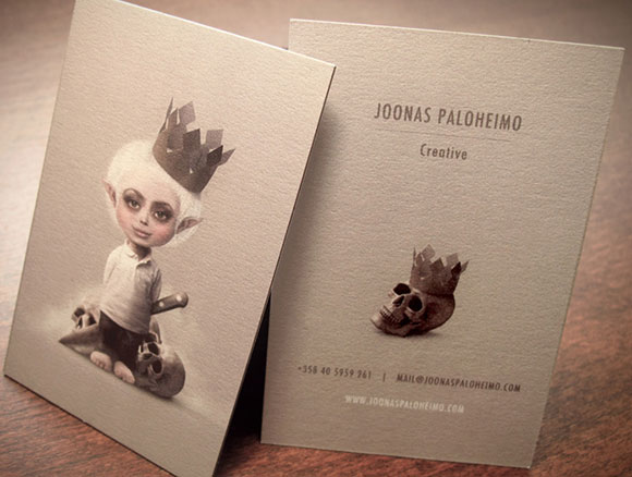 Business Card: Joonas Paloheimo