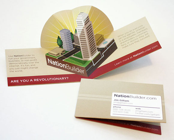 NationBuilder Pop-Up Business Card