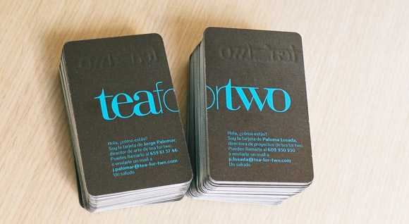 Tea for Two Business Cards