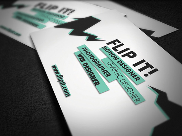 FLIP IT Business Card