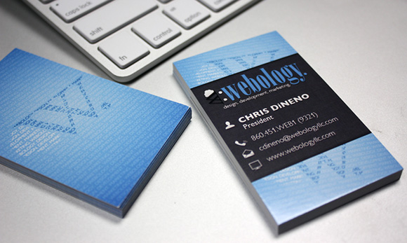Webology Business Cards