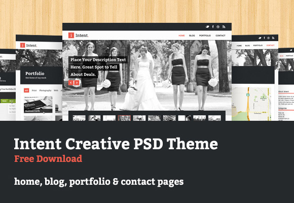 Intent PSD Theme