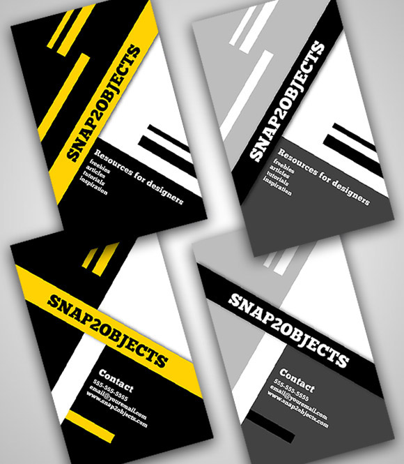 A Business Card Template Pack