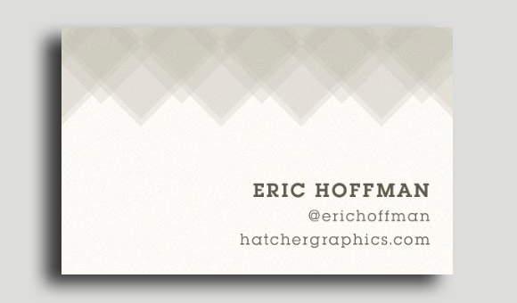 Design a Patterned Business Card