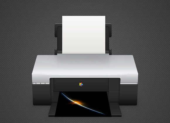 How to Create a Detailed Printer Illustration