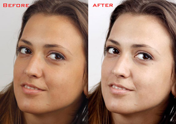 How to Soften the Skin Without Losing the Texture in Photoshop