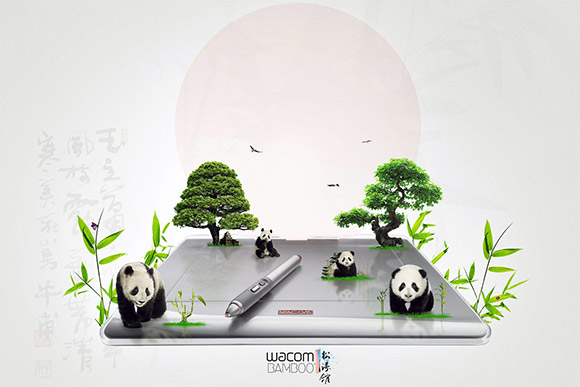 Create a Wacom Product Advertisement in Photoshop