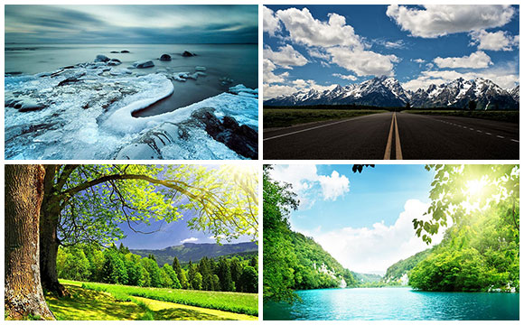 Back to Nature - 30 Stunning Landscape HD Wallpapers