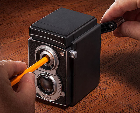 Classic Camera Pencil Sharpener