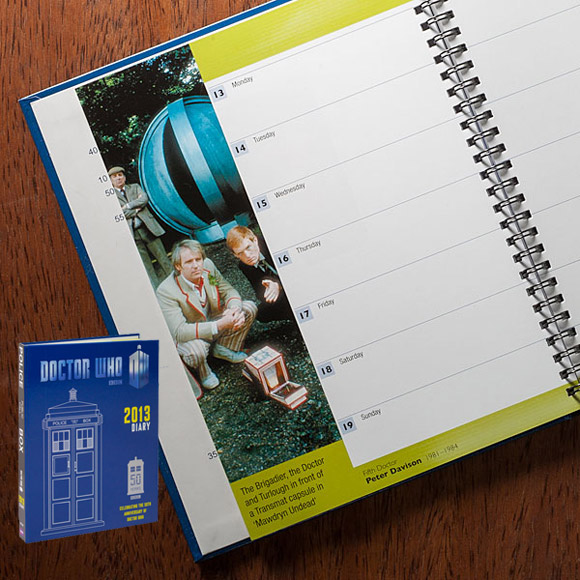 Dr Who 50th Anniversary Planner